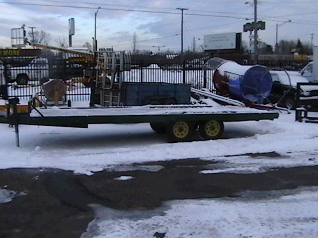 Where to find TRAILER, 7  X 20 , FLATBED in Howell