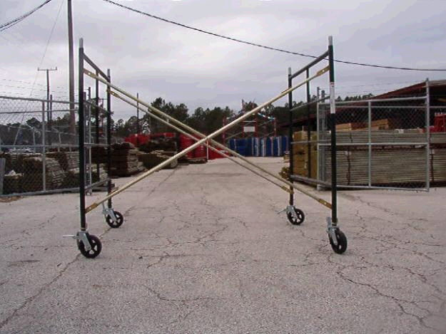 Where to find SCAFFOLD, FRAME, 5 X5 X7 in Howell