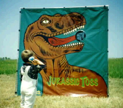 Where to find GAME, JURASSIC TOSS in Howell