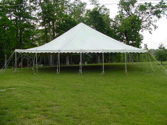 Where to find TENT 40 X 40, ALL WHITE in Howell