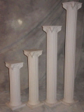 Rental store for COLUMN, 32  TALL, WHT, PLASTIC in Howell MI