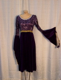 Rental store for DRESS, PURPLE W LACE OVERLAY in Howell MI