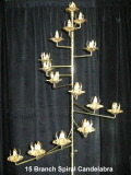 Where to rent CANDELABRA, SPIRAL, 15 CANDLE in Howell MI