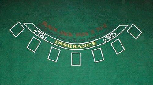 Where to find BLACKJACK LAYOUT in Howell