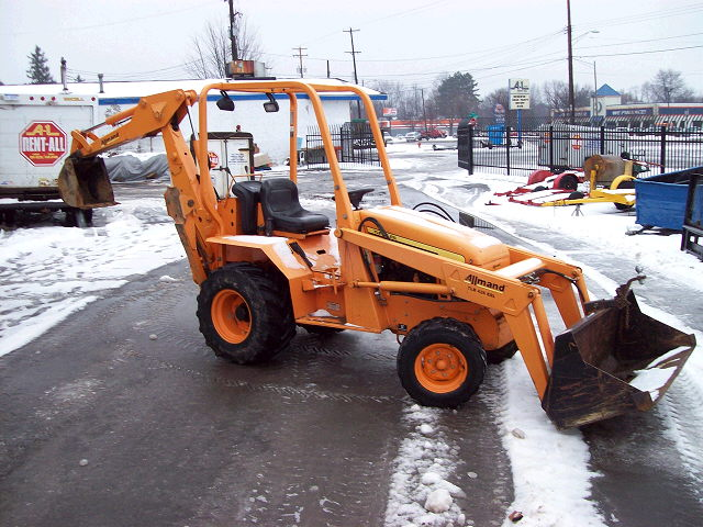 Where to find BACKHOE, SMALL in Howell