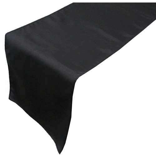 Where to find LINEN, TABLE RUNNER BLACK in Howell