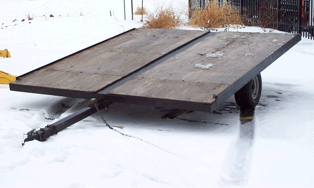 Where to find TRAILER, 8 X10 , FLATBED in Howell