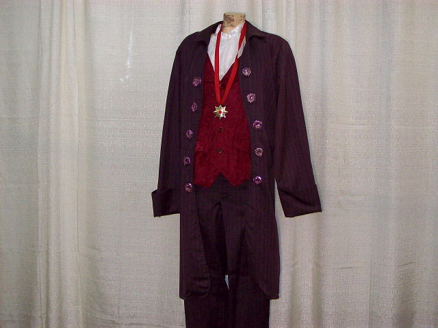 Where to find VICTORIAN, MAN, PURPLE COAT in Howell