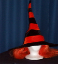 Where to rent HAT, WITCH, ORANGE STRIPES in Howell MI