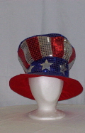 Where to rent HAT, UNCLE SAM, SEQUIN,TOP HAT in Howell MI