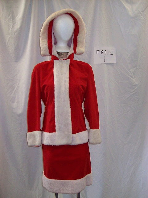 Where to find MRS SANTA COSTUME    SALE ONLY in Howell
