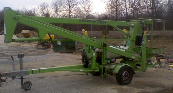 Lift Boom 32 Foot Towable Rentals Howell Mi Where To Rent