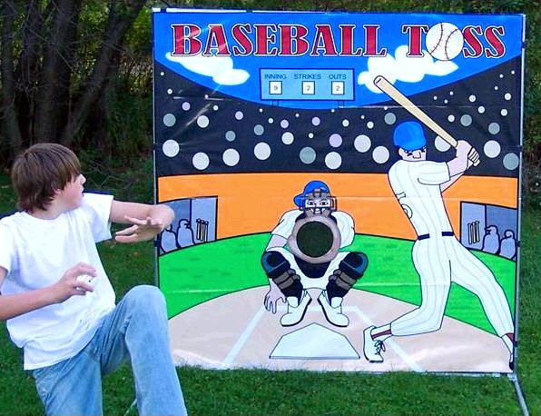 Where to find GAME, BASEBALL TOSS BACKDROP in Howell