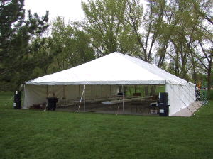 Frame Tent 40 X 70 Rentals Howell Mi Where To Rent Frame