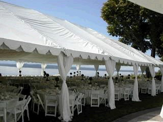 Where to find FRAME TENT 40 x 90 in Howell