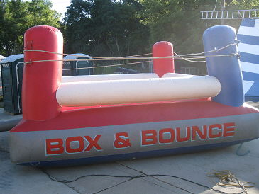 Where to find INFALTABLE BOXING RING in Howell
